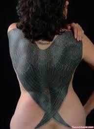 black wings on back viewer com