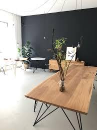Esszimmerstuhl Bananenblatt Our Oak Table Slim Nutsandwoods Furniture Design Pinterest