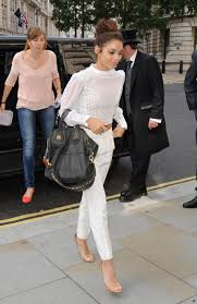 Nightingale Hollywood Vanessa Hudgens Arriving At Bbc Radio One In London 16 July 2013