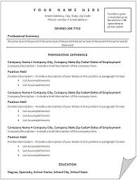 Accomplishment Words For Resume Key Words For Resume Template Resume Builder