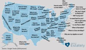 Google Map Of Florida This Map Shows The Questions Each State Googles More Than Any