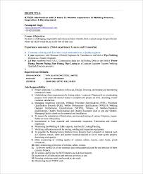 Welder Resume Objective Https Images Template Net Wp Content Uploads 201
