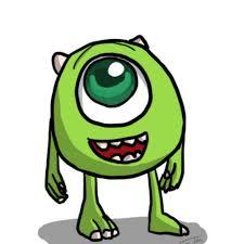 mike wazowski monsters sketch