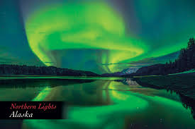 where is the northern lights in alaska northern lights alaska postcard pc161mark kelley mark kelley