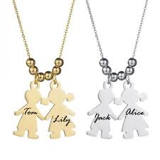 customized baby jewelry personalized name engraved baby girl boy necklace pendant gift for