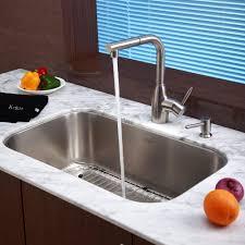 kraus pull out kitchen faucet kraus kpf2140sd20 single lever pull out kitchen faucet with hi arc