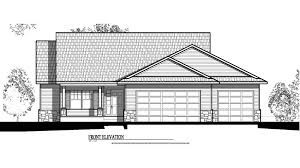 Elevation Floor Plan Floor Plans For New Homes In Iowa City Sycamore Trails