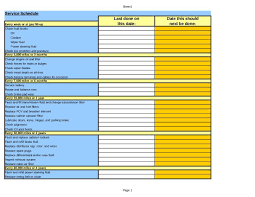 vehicle maintenance log templates and vehicle maintenance schedule