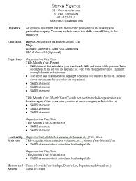 Examples Of Resume Names by Resumes And Cover Letters Career Development Center Hamline