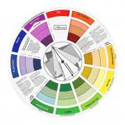 artist u0027s color wheel paint color mixing guide and harmony wheel