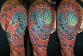 biomechanical tattoos and designs page 131