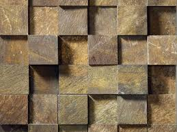 Slate Cladding For Interior Walls 3d Stone Wall Cladding Idea With Boxy Natural Stone Mosaic Wall