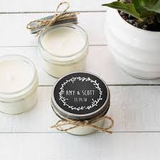 wedding favor candles set of 12 4 oz soy candle wedding favors wedding favor