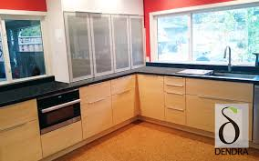 Bamboo Kitchen Cabinets Design Your Own Ikea Cabinet Doors Dendra Doors Custom Ikea Doors