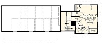 net zero ready house plan with l shaped lanai 33161zr