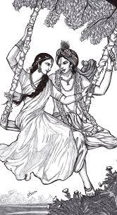 radha krishna sketch radha krishna realistic art pencil drawing