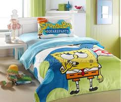Spongebob Bedding Sets Blue Spongebob Velvet Bedding Bedding Sets