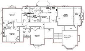 new house blueprints ingenious 12 new house blueprints floor plans home array