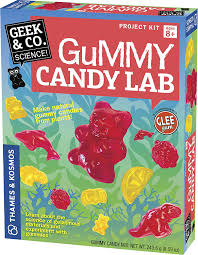 amazon com thames u0026 kosmos gummy candy lab science kit toys u0026 games
