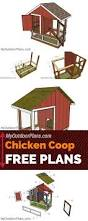 Plans Com Best 25 Simple Chicken Coop Plans Ideas On Pinterest Diy