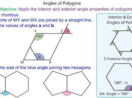 Finding Interior Angles Of A Polygon Worksheet Ks3 Maths Angles In Polygons Worksheet By Tristanjones Teaching
