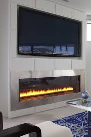 Custom Electric Fireplace by Best 20 Linear Fireplace Ideas On Pinterest Napoleon Electric