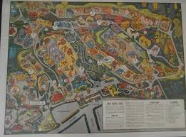 Weed Maps San Diego by Vintage San Diego Zoo Maps Yew