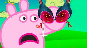 peppa pig peppa pig nose doctor game peppa pig english