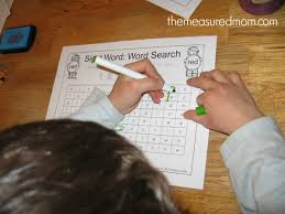how to make sight word worksheets fun the measured mom