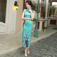robe chinoise traditional chinese dress silk qipao dresses vintage