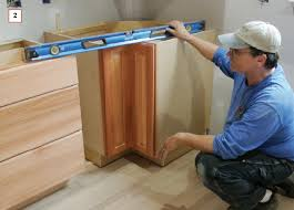 best way to install base cabinets 6 tips for kitchen cabinet installation pro remodeler