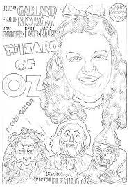 Wizard Of Oz Coloring Page Free Adult Coloring Pages Wizard Of Oz Coloring Pages