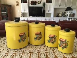 vintage canisters for kitchen 225 best vintage canisters images on vintage canisters