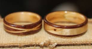 touch wood rings wooden engagement rings wooden rings from touch wood rings a