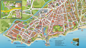 Map Of Malaga Spain by Audio Guide Of Nerja