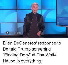 Ellen Meme - adele entube ellen degeneres response to donald trump screening