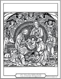 15 Printable Christmas Coloring Pages Jesus Mary Nativity Free Printable Nativity Coloring Pages