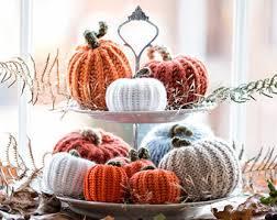 fall autumn decor 7 pumpkins harvest ornament thanksgiving