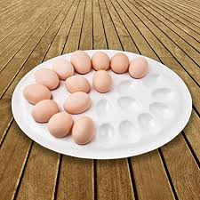 compare price thanksgiving deviled egg plate on statementsltd