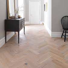 Herringbone Laminate Flooring Uk Woodpecker Goodrich Herringbone Salted Oak Brushed U0026 Uv Matt