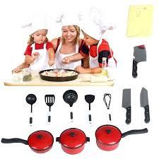 ustensile de cuisine enfant ustensiles de cuisine pour enfant 12pcs playhouse jouets petit