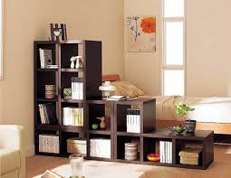 living room inspiring small bedroom design with brown wooden bed