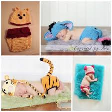 Diaper Halloween Costume Crochet Tiger Tiger Hat Diaper Cover Tail Baby