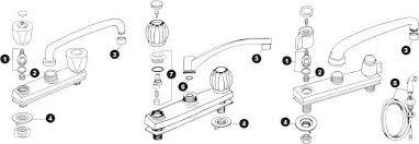 moen two handle kitchen faucet repair kitchen sink faucets repair parts moen faucet two handle leaky