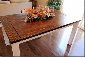 DIY Farmhouse Table To Create Warm And Inviting Dining Area - Building your own kitchen table