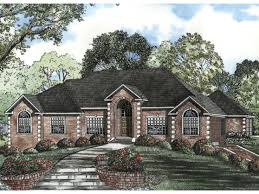 brick ranch style home plans homes zone
