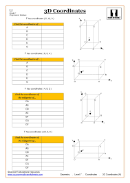 4 Quadrant Graphing Worksheets Interesting Ks3 Ks4 Maths Worksheets Printable With Answers
