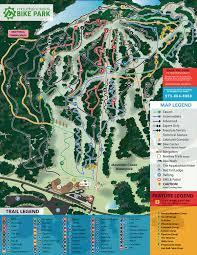Nyc Bike Map Trail Map Mountain Creek