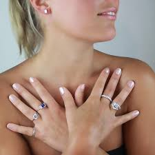 eternity ring finger the beautiful half eternity ring heavenly necklaces faux