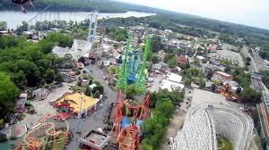 Six Flags Boston New England Skyscreamer On Ride Hd Pov Six Flags New England Youtube